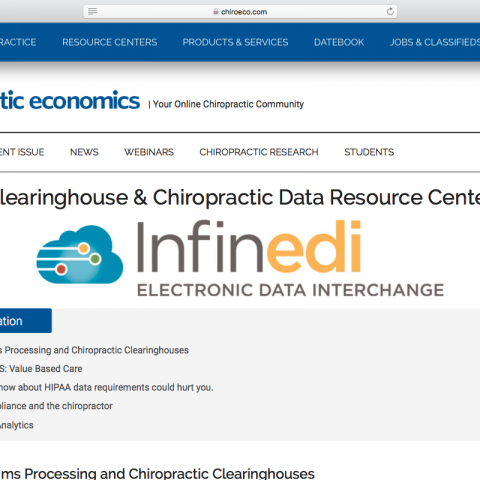 "Ebook: ""Clearinghouse and Chiropractic Data Resource Center"""