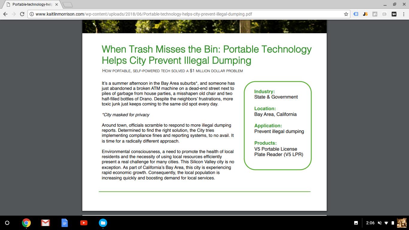 Case Study: When Trash Misses the Bin
