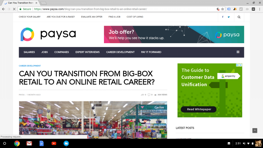 Blog Post: Can You Transition from Big-Box Retail to an Online Retail Career?
